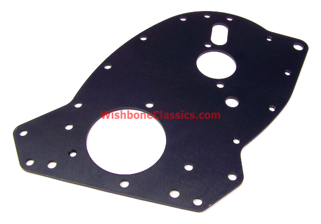 Front Engine Plate Aluminum With Hard Coat Triumph Gt6 Tr250 Tr6