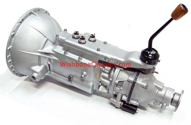 rebuilt tr250 & tr6 transmission w/ j-type od | wishbone classics