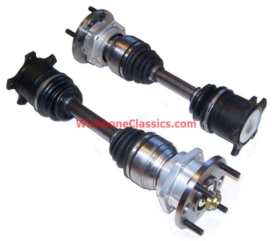 goodparts cv rear axles with uprated hubs
