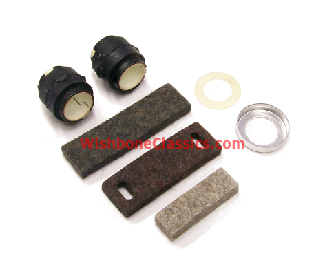 New Steering Rack Mount Bushing Set Triumph TR4A TR6 GT6 /& Spitfire Poly