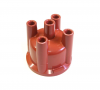123 Distributor Cap, 4 Cylinder Straight Plug - Made in Germany