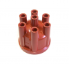 123 Distributor Cap, 6 Cylinder Straight Plug - Made in Germany