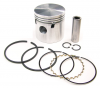 Piston & Ring Set, Flat Top - Triumph GT6