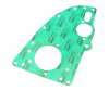 WBC Front Engine Plate Gasket (non-asbestos, USA material) - MG Midget 1500, Triumph Spitfire, GT6, TR250, TR6
