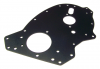 Front Engine Plate, Aluminum with Hard Coat - Triumph TR6 (1975-1976 USA Models)