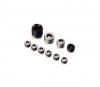 Oil Gallery Plug Kit, All Steel - Triumph GT6 TR250 TR6