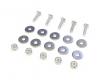 Spoiler Mounting Hardware Kit, Stainless Steel - Triumph TR6