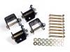 Adjustable Trailing Arm Bracket Set (with options) - Triumph TR250, TR6