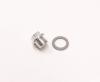 Steel Drain Plug, Aluminum Sump - Triumph TR250 TR6