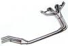 Stainless Exhaust Header, 6-3-1 Street, Triumph TR250 & TR6